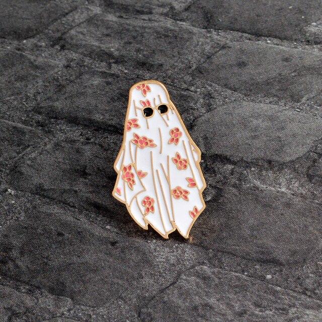 Дубай эмаль контактный персидский цветок белый халат солнцезащитные очки брошь для мужчин мальчиков Костюмы куртка рюкзак брошка в виде усов мультфильм ювелирные изделия