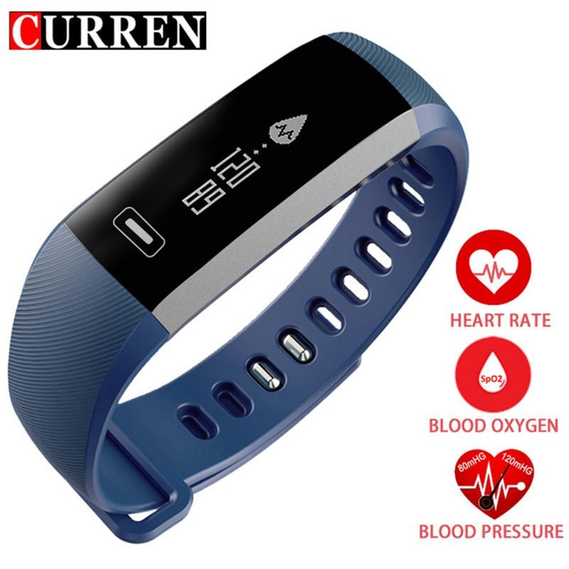 Uhren R5 Pro M2 Smart Handgelenk Band Herzfrequenz Blutdruck Sauerstoff Oximeter Sport Armband Uhr Intelligente Für Ios Android Smartband Digitale Uhren
