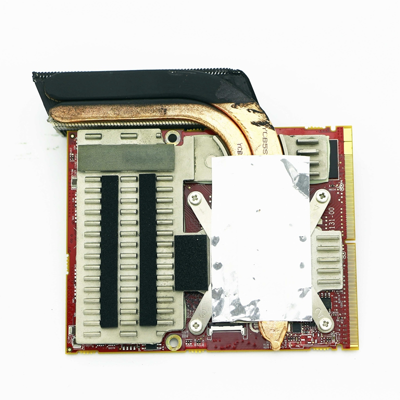 HoTecHon véritable carte graphique vidéo Radeon HD 5870 M avec dissipateur de chaleur-C8245/RT01J pour Alienware M17x R2