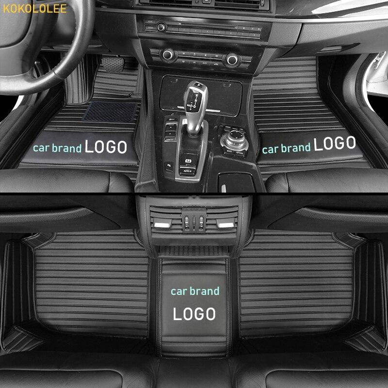 Tapis de sol kokololee pour Mercedes Benz logo tous les modèles E C GLA GLE GL CLA ML GLK CLS S R A B CLK SLK G GLS GLC vito viano