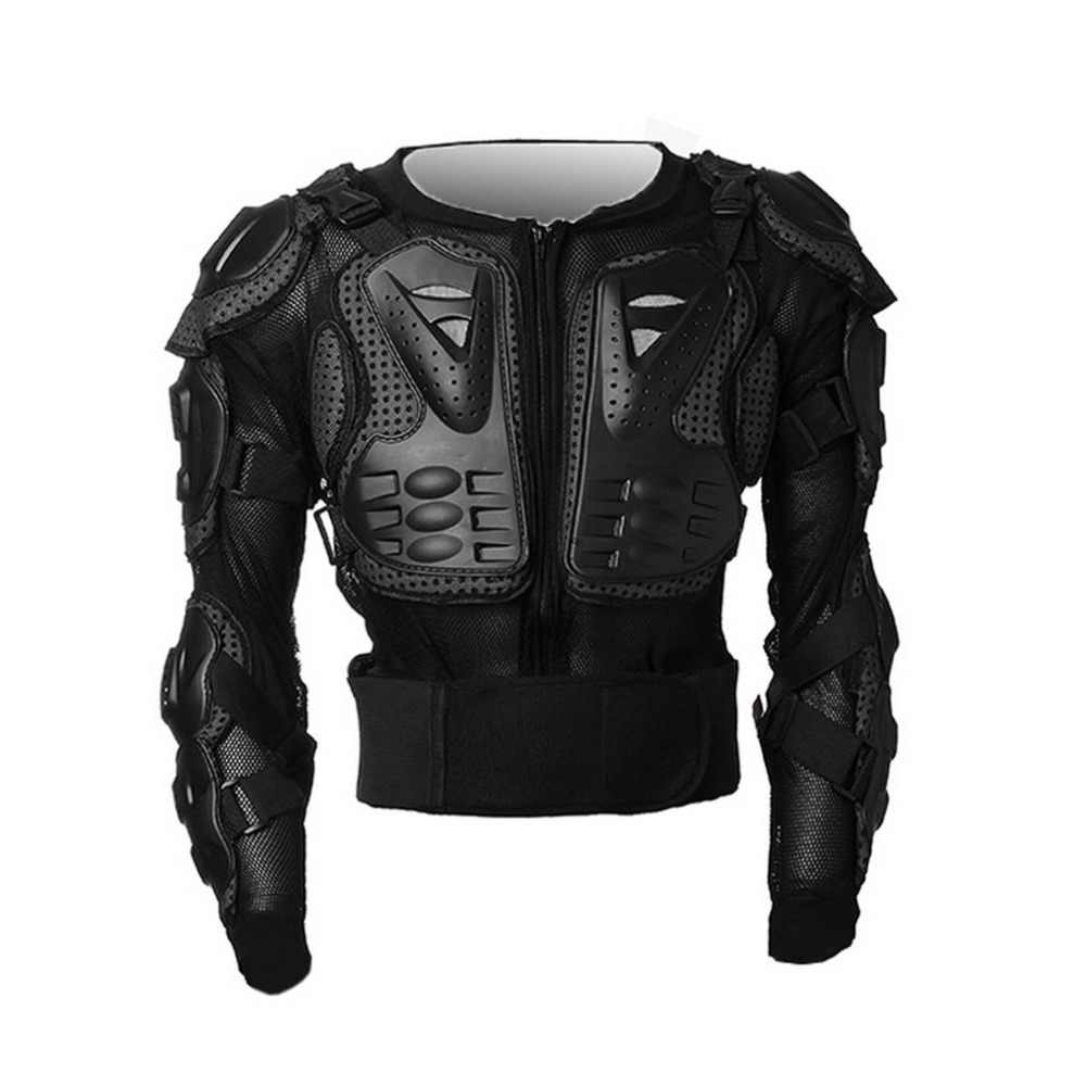 Motocross Dirt Bike Full Body Armour Jacket Chest Shoulder Elbow Plastic Coverage Quad Motorcycle Protect Suit S/M/L/XL/XXL/XXXL