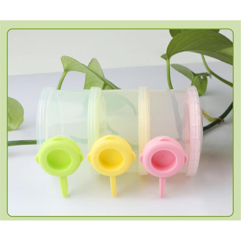Mutter & Kinder Baby Food Storage Box Tragbare Kleinigkeiten Box Milch Pulver Organizer Container Empfangen Box Geschenk Fall 3 Farbe