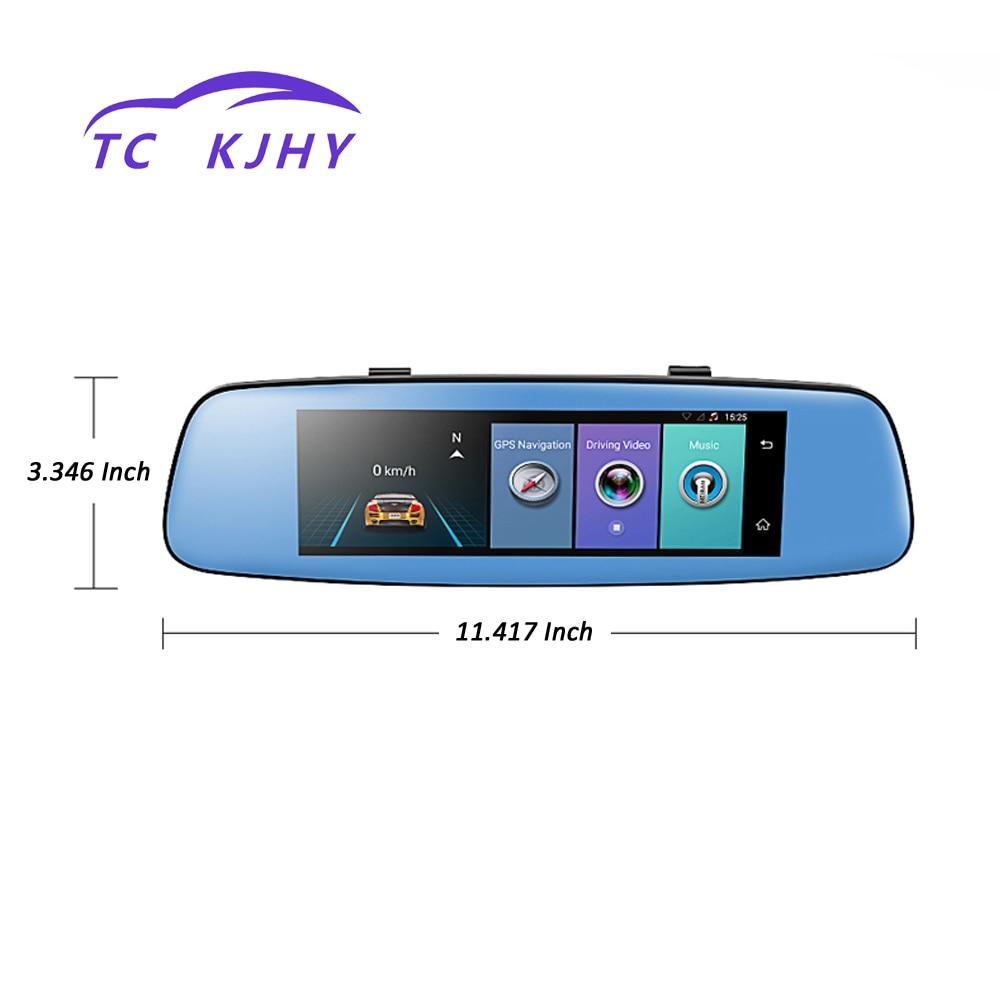 2018 Auto 7.84 Inch HD 1080P 4G Dash Cam Car DVR Camera Registrar with GPS Automobile Video Recorder Rear View Mirror Display