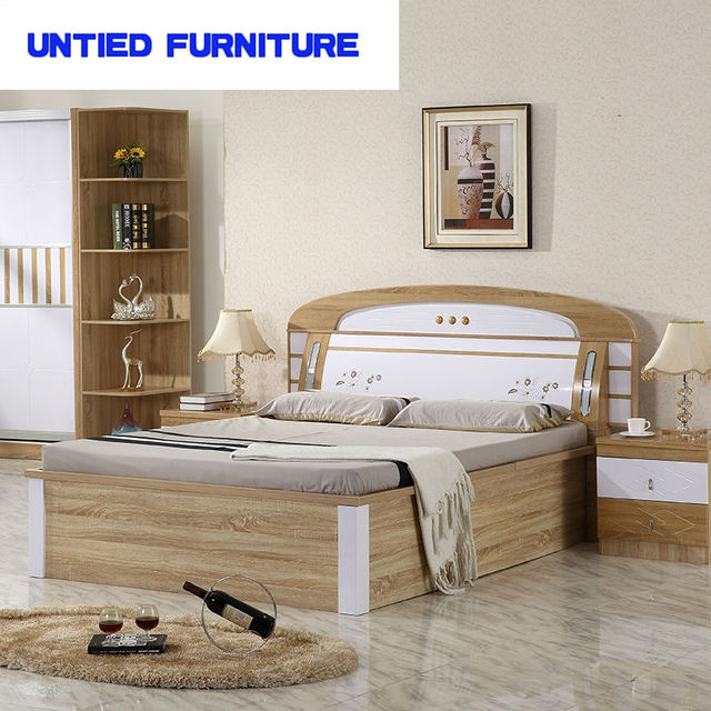 Mdf White High Gloss Furniture Bedroom Set Bed Contemporary Hot Ing Modern Design King Size Wooden