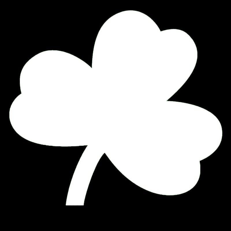 Hotmeini красивые ирландский Трилистник завод графические Стикеры для чистый автомобиль трактор, косилка ноутбука Патриот украшения Винилова...
