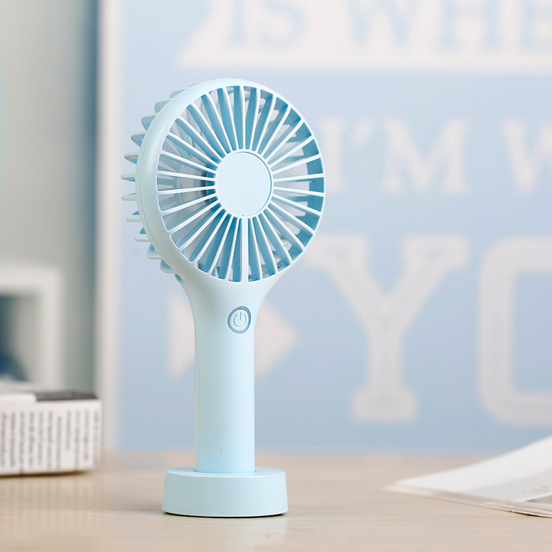 Mini Handheld Fan Foldable Personal Portable Desk Desktop Table Cooling Fan with USB Rechargeable Battery Operated Electric Fan in Fans from Home Appliances