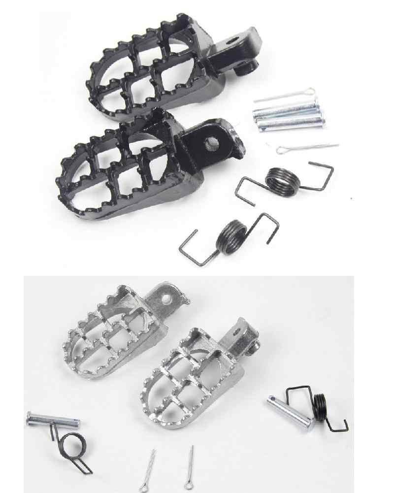 Adeeing kazıklar pedallar Yamaha TW200 PW50 PW80 Pit Dirt Bike SSR SDG Adeeingrests Adeeing mandal seti Honda X R 50 XR70 çukur