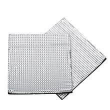 Изоляционный хлопок для CR-10S 3d принтер нагревательная кровать стикер400*400*10 мм теплоизоляция хлопковая фольга R20