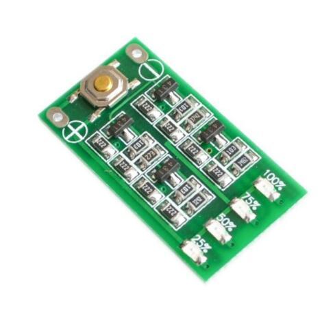 5 pcs 3S 11.1V 12V 12.6V Lithium Battery Capacity Indicator Module Lipo Li-ion Power Level Display Board 3 Series 9-26V