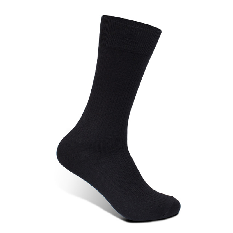 High Quality The Gentleman Socks Cotton Soft Business Man Socks Lycra Fabric Skin breath freely socks 5pairs a lot Black color