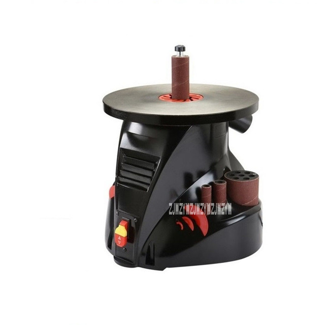 New OS1400 Shaft Sand Machine Curved Surface Grinding Table Legs Wooden Handle Shaft Sand Machine 220v300W 19mm 25 times/min