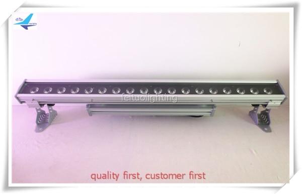 Best Sell 6pcs/lot RGBWA UV 6IN1 Led 18x18w Linear Wall Washer Bar Light Aluminum DMX Strobe IP65 Waterproof Stage Disco DJ Lamp
