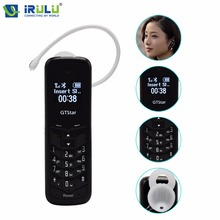Original 10 teile/los GTStar BM50 GSM Handy als Bluetooth 0,66 zoll OLED Mini Handy Kopfhörer MP3 300 mAh Weiß schwarz Farbe