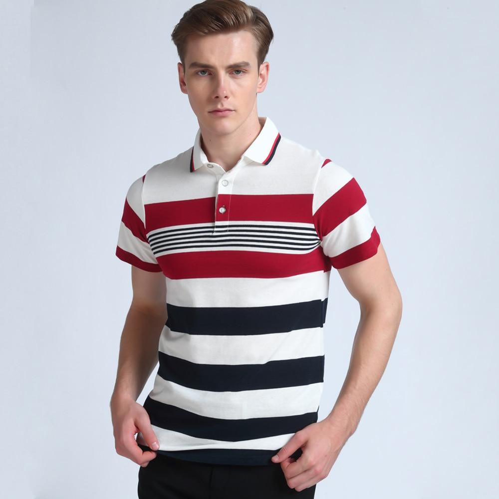 Mwxsd marca de calidad superior del verano de los hombres polo camisa - Ropa de hombre - foto 3