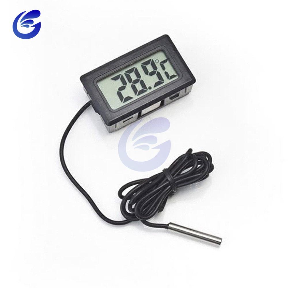 HTB1HseLafvsK1RjSspdq6AZepXad Mini Digital LCD Probe Fridge Freezer Thermometer Sensor Thermometer Thermograph For Aquarium Refrigerator Kit Chen Bar Use 1M