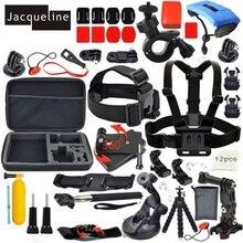 Jacqueline for Accessories Set Kit Monopod for Gopro hero HD 6 5 4/3/2 for SJCAM SJ4000 SJ5000 SJ6000 for EKEN H9R H9 H9SE