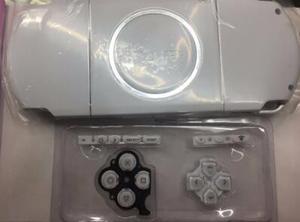 Image 4 - شحن مجاني 6 ألوان ل PSP 3000 PSP3000 كامل الإسكان شل غطاء علبة استبدال أزرار أطقم