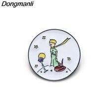 P3289 Dongmanli Le Petit Prince Enamel Pin Brooches Cartoon Creative Metal Brooch Pins Denim Hat Badge Collar Jewelry le denim