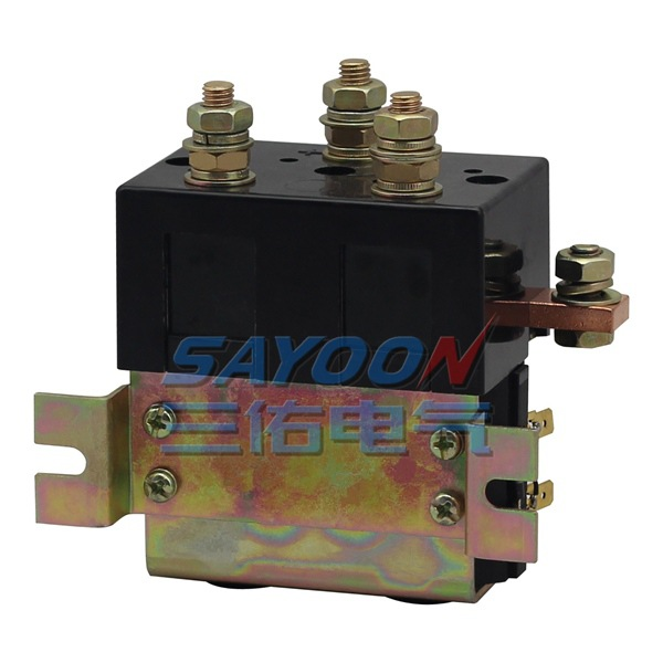 SAYOON DC 24V contactor CZWT200A , contactor with switching phase, small volume, large load capacity, long service life. sayoon dc 12v contactor czwt150a contactor with switching phase small volume large load capacity long service life