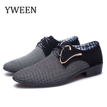 YWEEN New Arrive Men Oxford Shoes Free Shipping Mens Dress Man Casual Plus Size 38-48