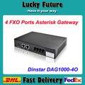 4 Ports Asterisk Gateway FXO VOIP Gateway Dinstar DAG1000-4O