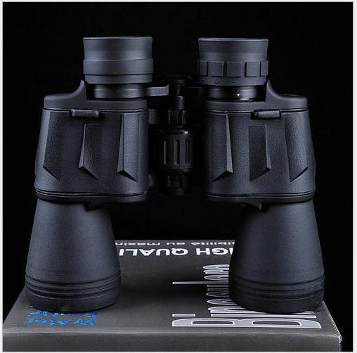 где купить Free shipping FS telescope 20X50 Binoculars High quality Hd wide-angle Central Zoom day and Night Vision telescope по лучшей цене