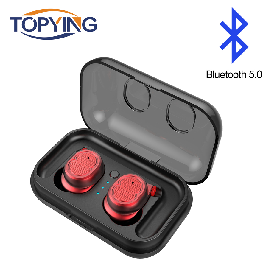 TWS-8 Wireless Bluetooth Earphone Mini Headset Touch Control Bluetooth V5.0 Stereo In-Ear Earbuds for Iphone 7 IOS Xiaomi Phone tws wireless earphones bluetooth earphone pair in ear music earbuds set for apple iphone 6 7 samsung xiaomi sony head phone md1