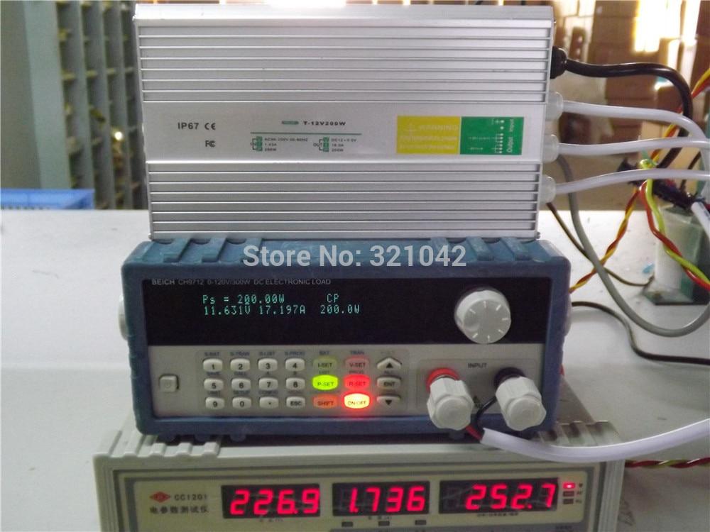IP67 12V 16.7A 200W AC100-240V Input Electronic Waterproof Led Power Supply/ Led Adapter 12V 200W ip67 12v 5a waterproof electronic led power supply silver 100 240v