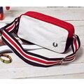 Nueva moda bolsa de hombro informal diagonal bolsa pequeña bolsa de lona en el pecho bolsillos Inglaterra marea de hombres y mujeres, gastos de envío gratis