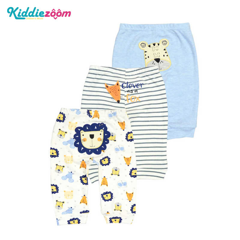 3 PCS/LOT Baby Boy/Girl Pants Spring&Autumn Lovely Cotton Infant Casual Pants Newborn Pants Newbaby Clothing 0-24Month Kids Wear