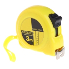 3m 5m Retractable Stainless Steel Tape Measure Ruler Measuring Metric Tape Rule