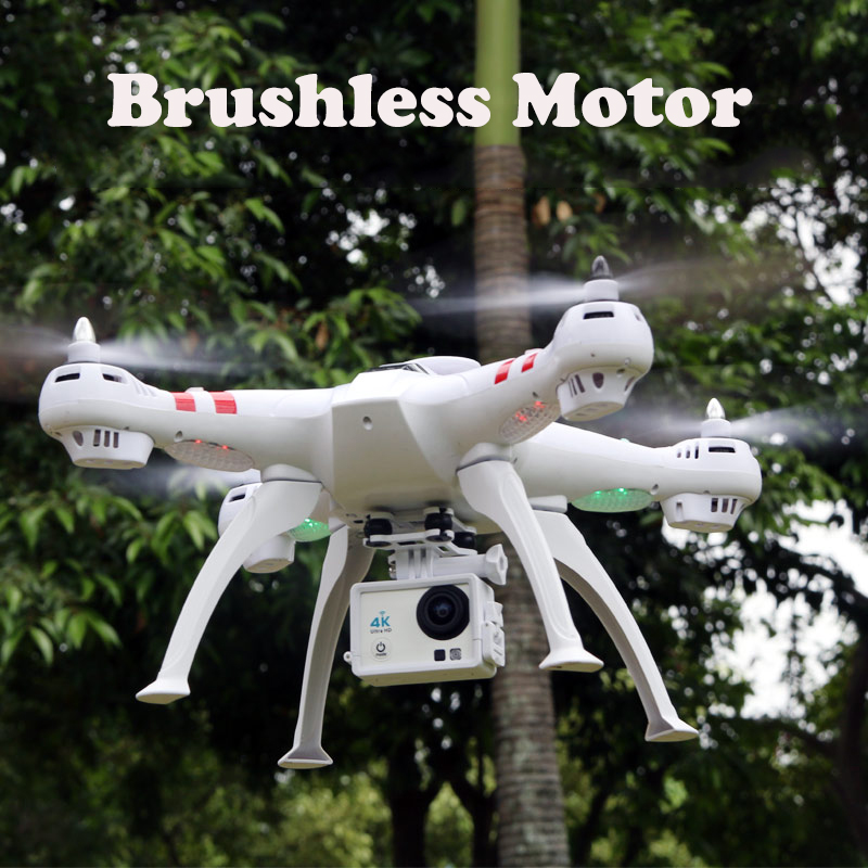 Four-axis high-definition camera X16 4K camera RC Helicopter FPV Quadcopter Brushless Motor RTF Automatic Return Hovering Drone