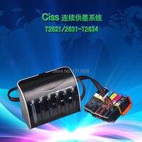 INK WAY T2601 full black tank, T2621 Ciss ink system for XP 600 XP 605 XP 700 XP 800 XP 610 XP 615 XP 710 XP 810 With ARC