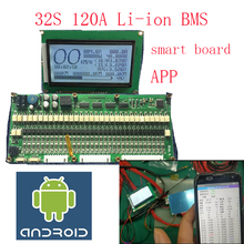32S смарт-плата lipo литий-полимерная BMS/PCM/PCB плата защиты батареи для 32 шт 18650 литий-ионный аккумулятор(ANT BMS