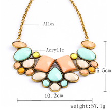 2016 Bohemia Multi Color Flower Choker Necklaces Beads Long Chain Statement Necklace For Women Tassel Maxi Collares Gift