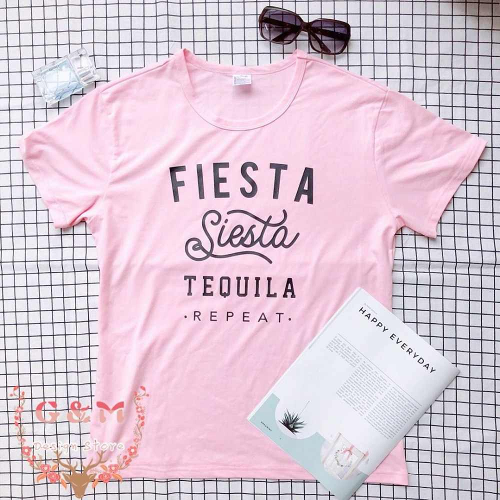 344197c57 Detail Feedback Questions about OKOUFEN bride wedding Bachelorette party Fiesta  Siesta Tequila Repeat tshirt Party Girls Trip Vacation Weekend shirt tops  ...