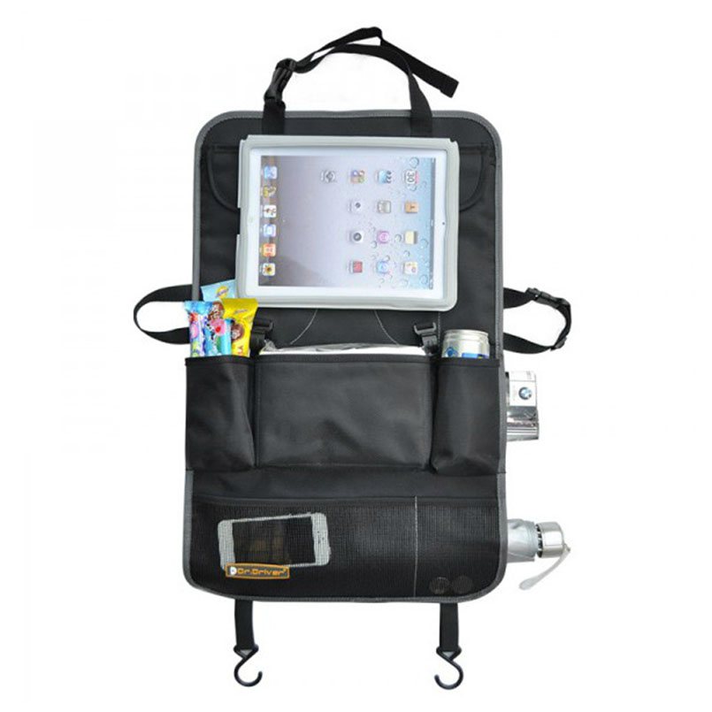 online shop huiyi home car back seat organizer hanging pouch for tablet computer phone kids toy travel storage bags ego013 aliexpress mobile