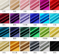 Diy 1 12 Color Solid Color Designer 93 Natural Mulberry Silk 7 Spandex Stretch Satin Clothing