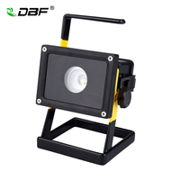 [DBF]Waterproof IP65 30W LED Floodlight Portable Rechargeable Emergency Work Outdoor Cree XM L2 LED Flood Light 3 Modes+Charger