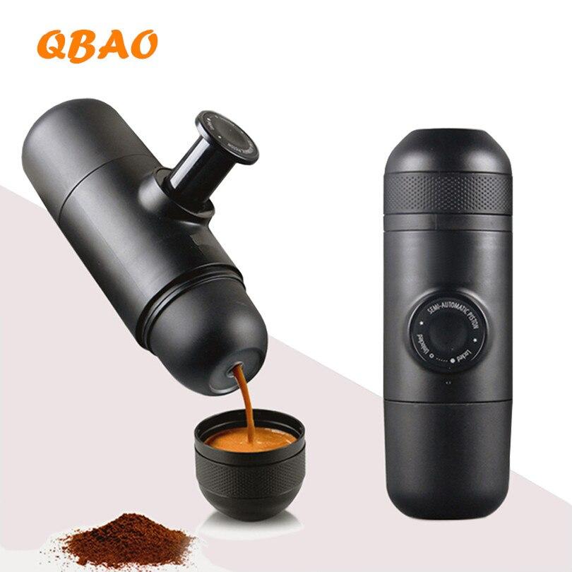 Portable Manual Coffee Maker Espresso Maker Black Hand Operated Coffee Machine For Home christie a black coffee