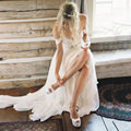 Em Estoque Vestidos de Noiva Chiffon Querida Beading Vestido de Noiva Vestido de Noiva Longo de Cristal Barato Robe De Mariage Com Pregas
