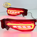 Multi-function LED Rear Bumper Light Rear Fog Lamp Brake Light Turn Signal Light Reflector For Toyota Fortuner 2015 2016 2017