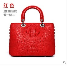 цена на yuanyu Crocodile handbag handbag genuine imported crocodile handbag single shoulder square genuine handbag for ladies