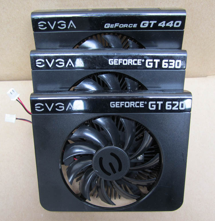 The new EVGA GT440 GT620 GT630 graphics fan fan pitch 4.0 diameter 7.5cm басовый усилитель ampeg svt 3pro