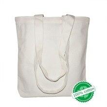 Высококачественные Для женщин Для мужчин Сумки холст сумки многоразовые хлопка продуктовый сумка-шоппер Интернет-магазин эко корзина складная тележка