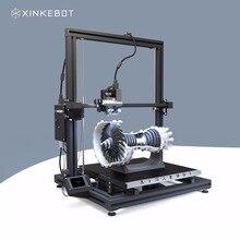 Giant 3D Printer All Metallic Body Xinkebot Orca2 Cygnus Twin Extruder 3D Printer 1.3×1.3×1.6ft Construct Dimension zero.05mm Decision