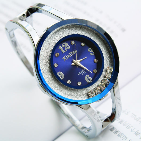 Relojes Mujer 2017 High Quality hours fashion bracelet clock quartz watch women dress watches blue wristwatches relogio feminino guanqin quartz watches fashion watch women dress relogio feminino waterproof tungsten steel gold bracelet watches relojes mujer