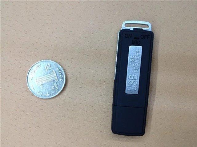 Hot Hidden Professional Digital Voice Recorder 8GB Mini Dictaphone WAV Audio Recorder USB Flash Disk MP3 Music voice recorder