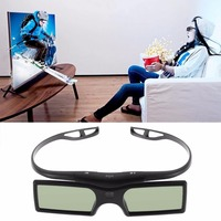1pc Bluetooth 3D Shutter Active Glasses For Samsung For Panasonic For Sony 3DTVs Universal TV 3D