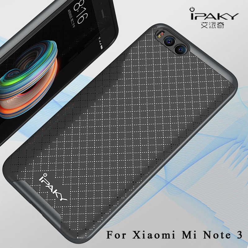 Чехол для xiaomi mi note 3, оригинальный бренд iPaky, чехол для xiaomi note 3, армированная рамка из поликарбоната + силиконовая задняя крышка для xiaomi mi note3, чехол s